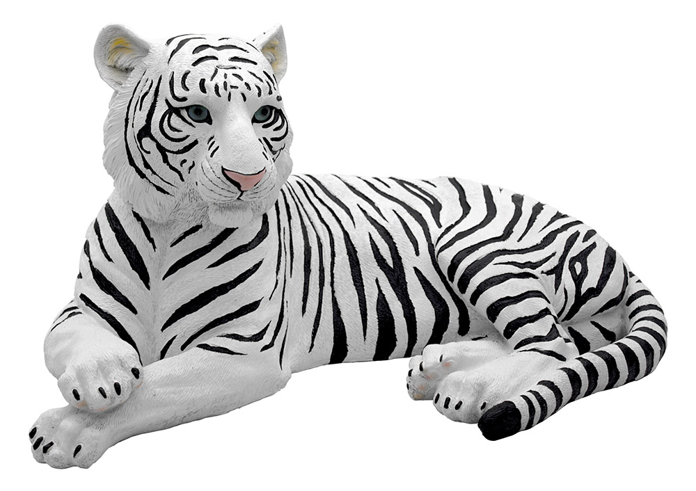 Ghost Tiger - White Tiger Statue
