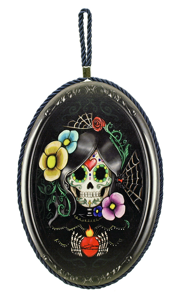Sugar Skull Hanger - Wall Plaque