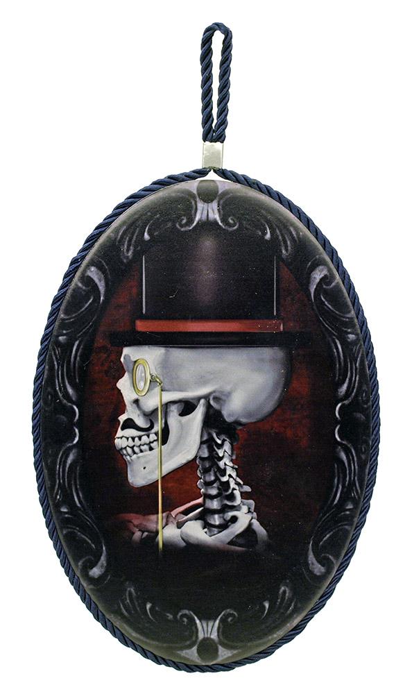 Sugar Skull Hanger - Wall Plaque
