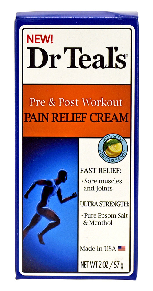 Dr. Teal's Pre & Post Workout Pain Relief Cream