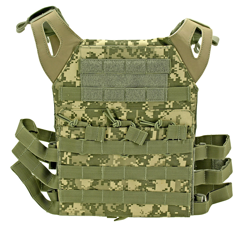 Junior Padded Tactical Vest - Digital Camo
