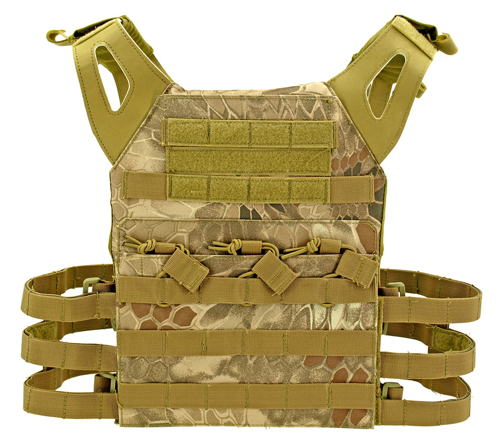 Junior Padded Tactical Vest - Desert Python Camo