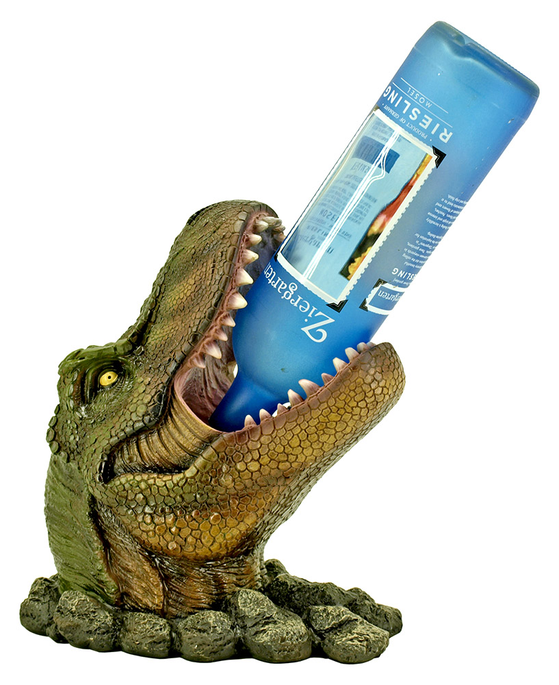 Wino Saur Rex - Dinosaur Wine Bottle Holder