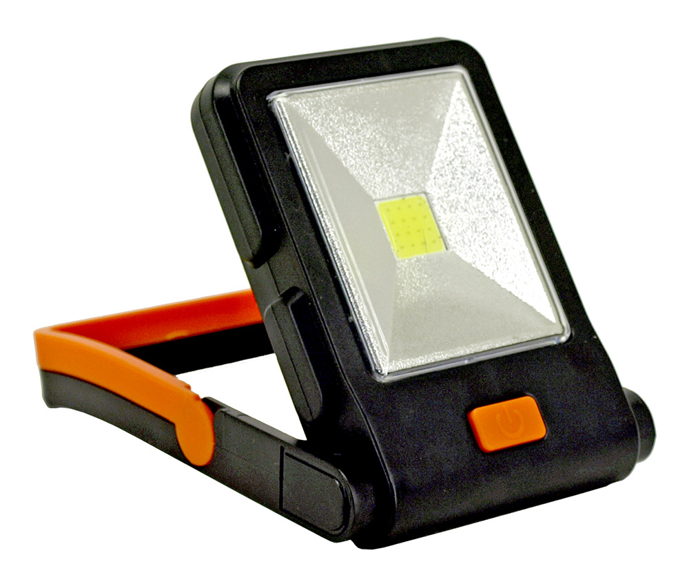 COB Work Lamp with Folding Stand