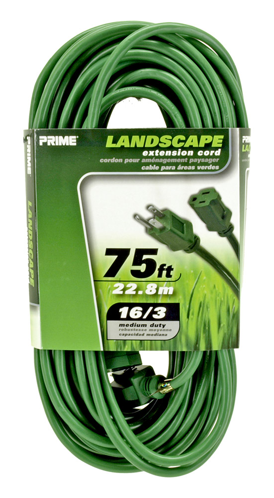75ft. Landscape Extension Cord - Green