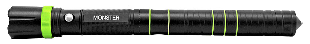 Monster 3 in 1 Flashlight, Knife, Striker