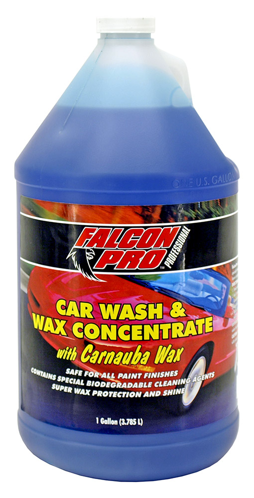 Car Wash and Wax Concentrate - 1 Gallon