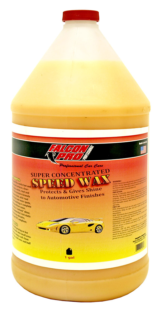 Super Concentrated Speed Wax - 1 Gallon