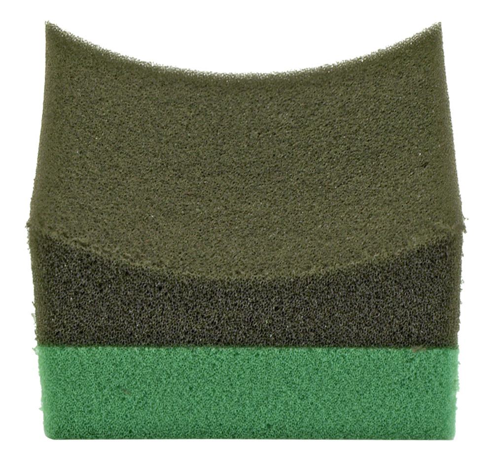 Tire Dressing Applicator - Green and Black