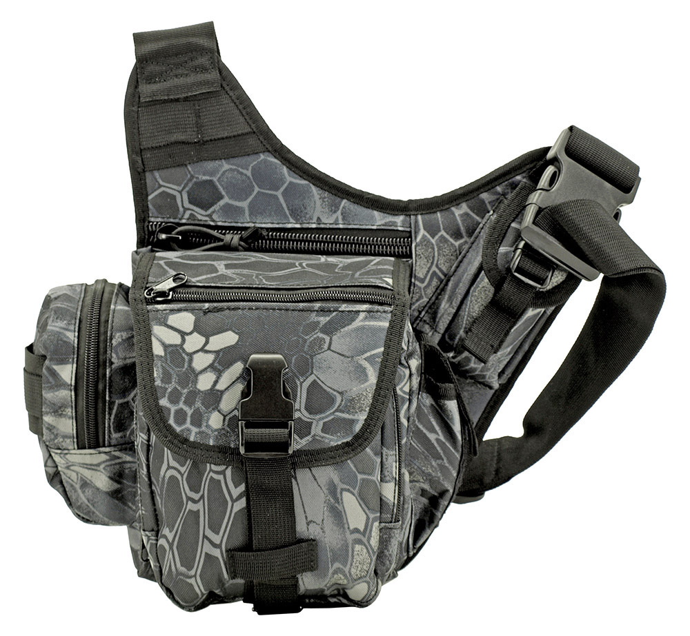 Tactical Day Bag - Black Mamba Camo