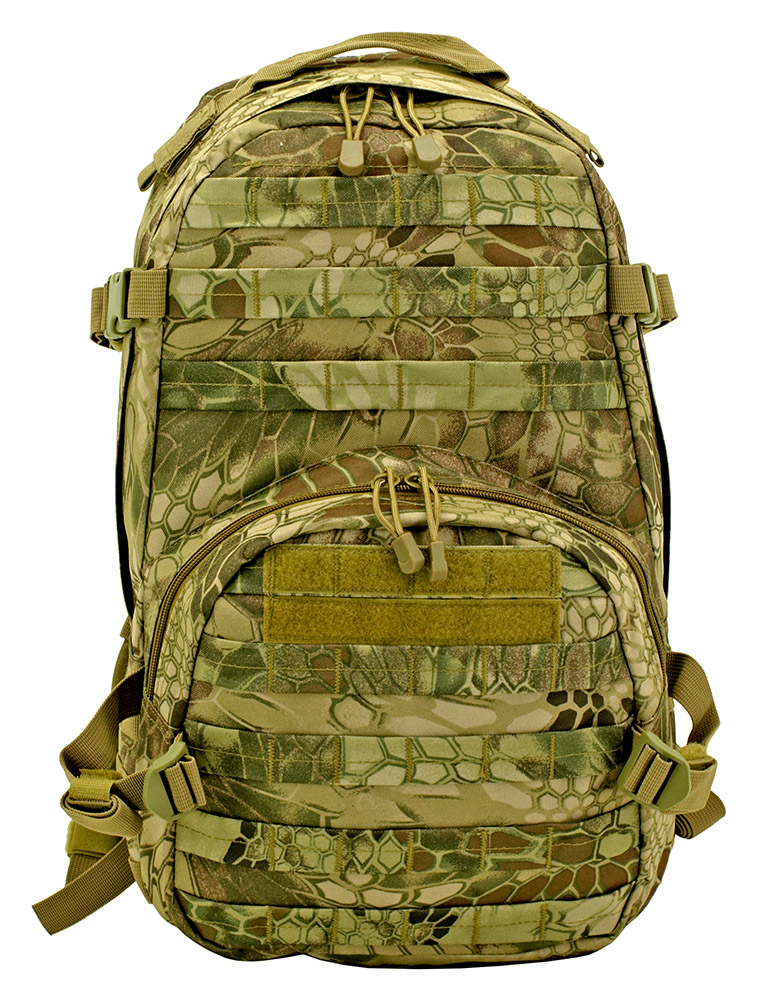 Tactical Hunting Pack - Reticulated Camo