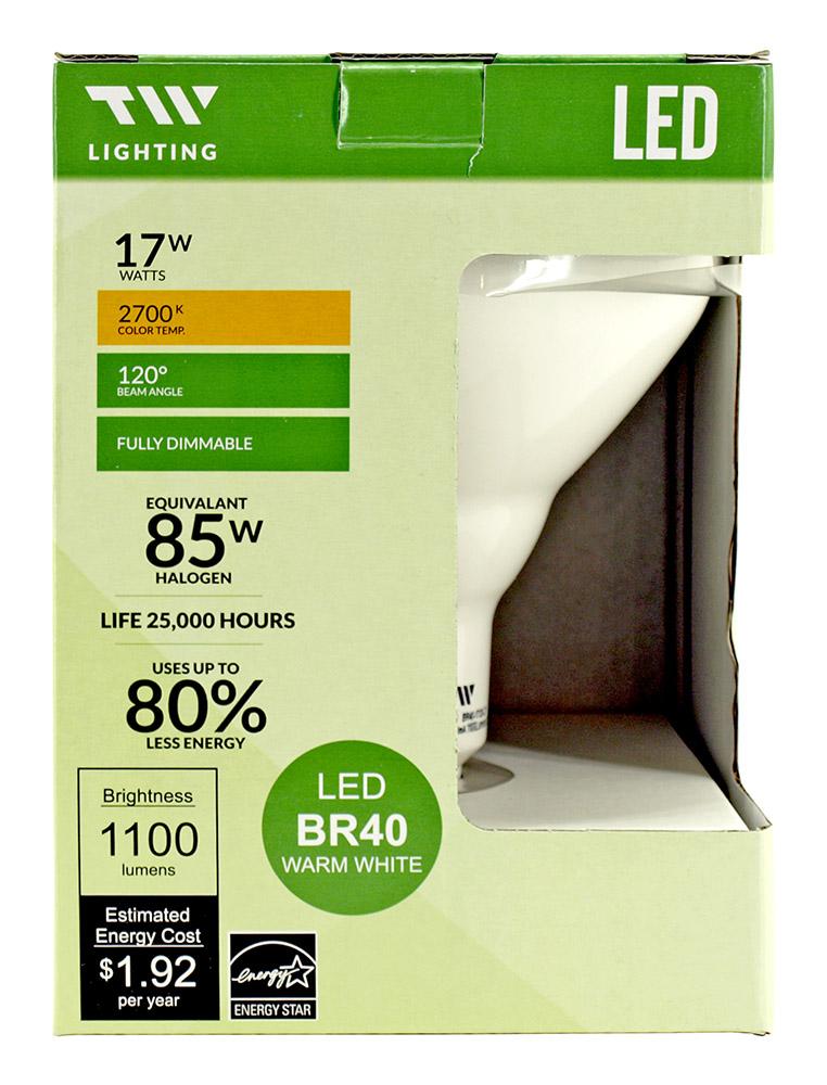 BR40 LED Light Bulb - 1100 Lumens - 2700k