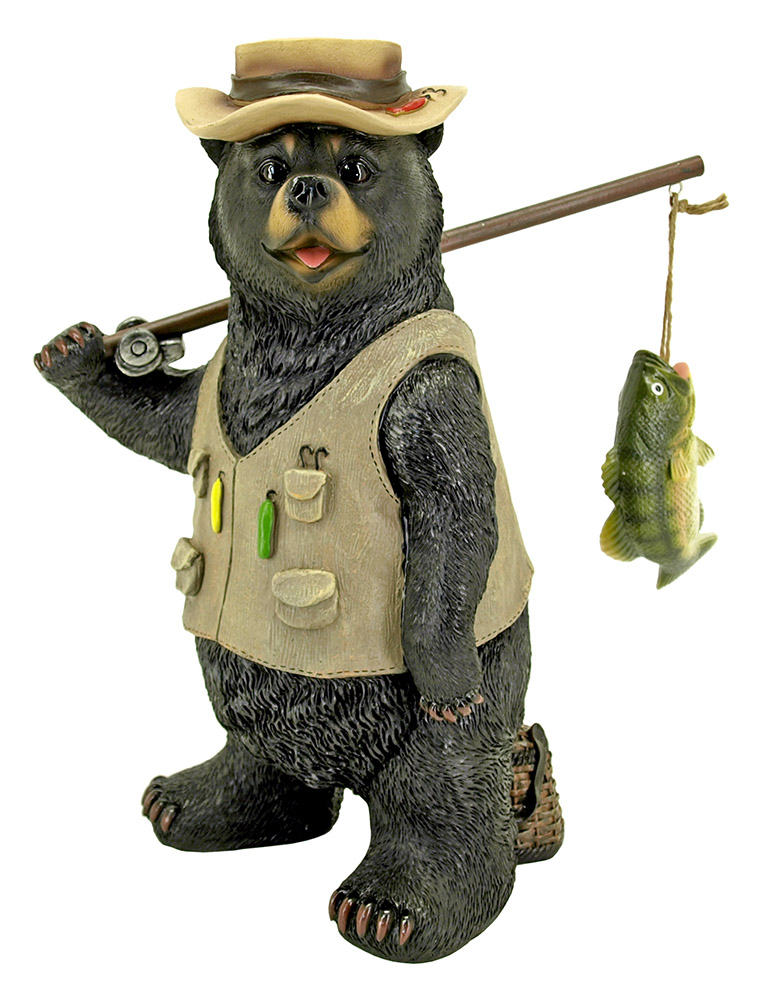 Fishing Tales - Bear Statue