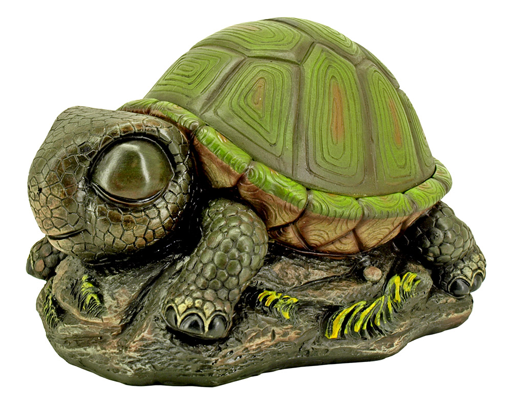 Shelly's Secret Stash - Turtle Statue