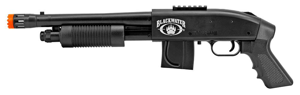 Blackwater Mossberg 500 Cruiser Spring Powered Airsoft Shotgun
