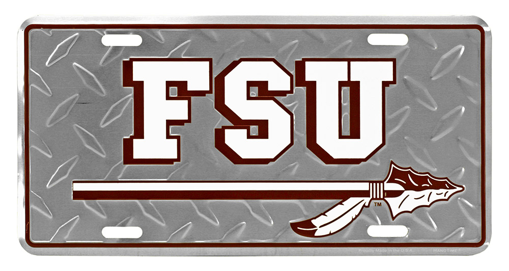 Florida State University License Plate