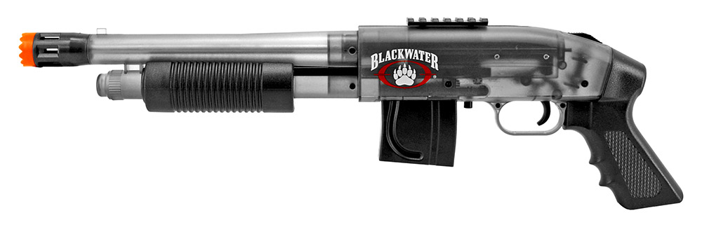 Blackwater Mossberg 500 Cruiser Spring Powered Airsoft Shotgun - Smoke