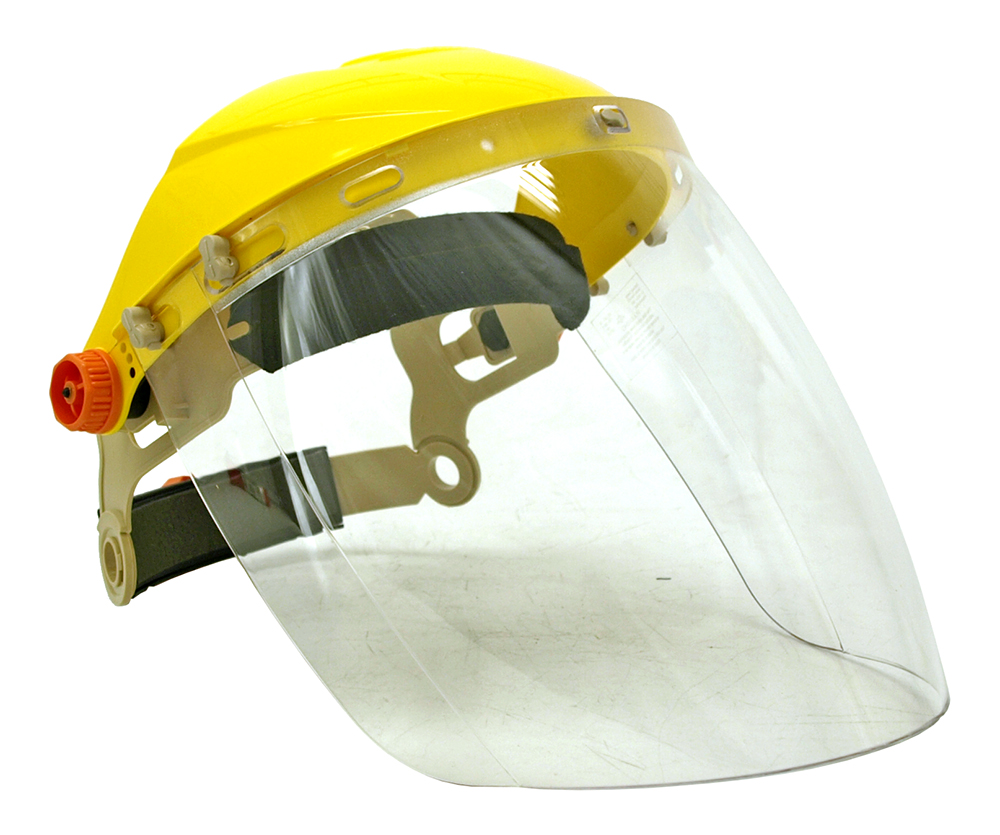Venom Face Protection Headgear and Visor Combo-Pak