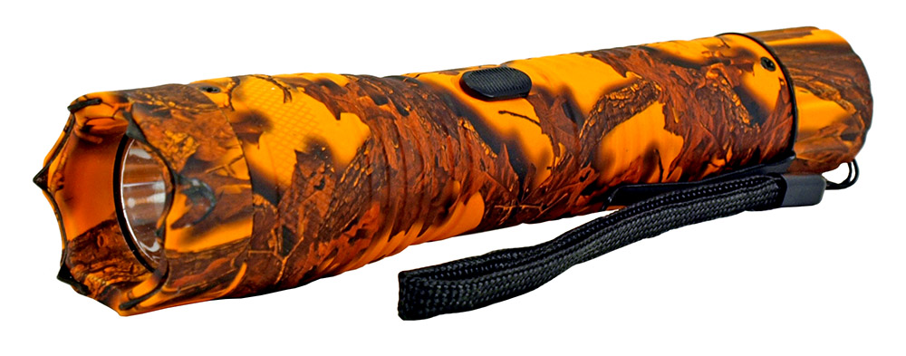 Tactical Flashlight Stun Gun - Orange