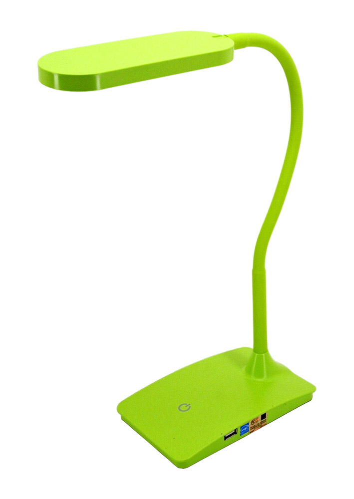IVY LED USB Desk Lamp - Green