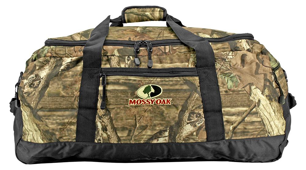 Mossy Oak Large Duffle Bag - Woodland Camo