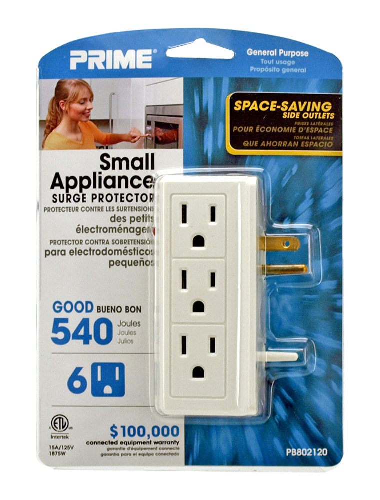 Small Appliance Surge Protector
