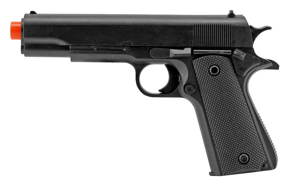 P2003A Spring Powered Airsoft Handgun - Black