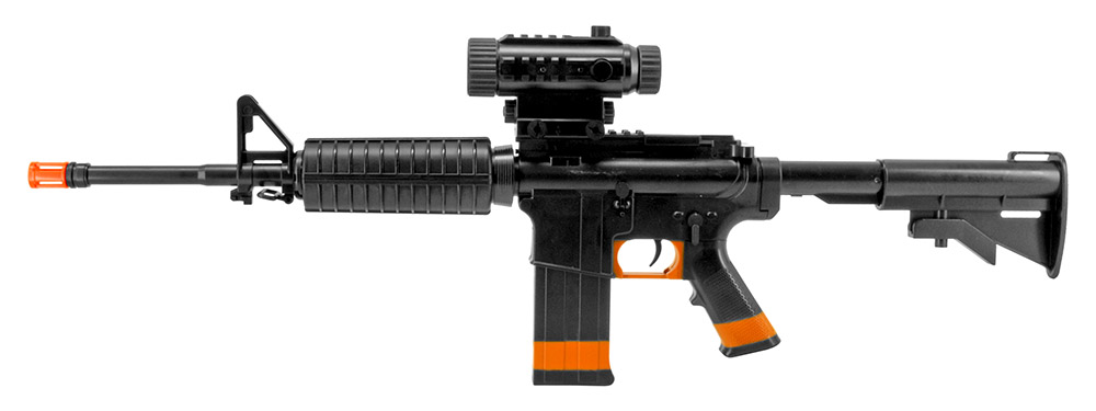 M4 Boys AEG Airsoft Rifle - Black