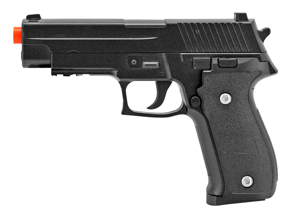 G.26 Full Metal Spring Airsoft Pistol with Holster