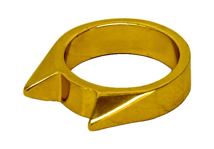 Self-Defense Bear Ring (Small) - Gold