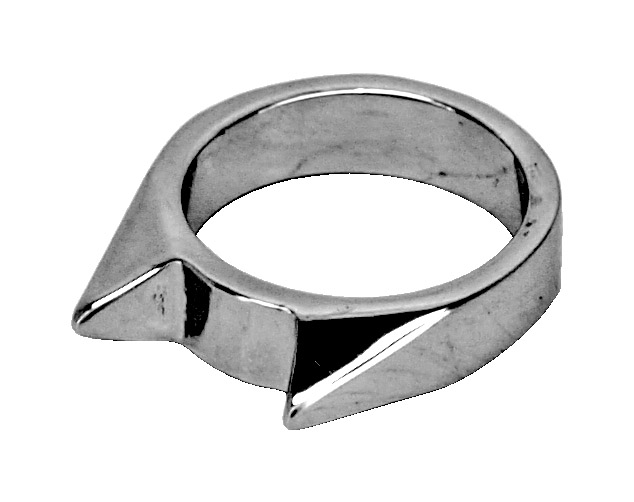 Self-Defense Bear Ring (Small) - Silver
