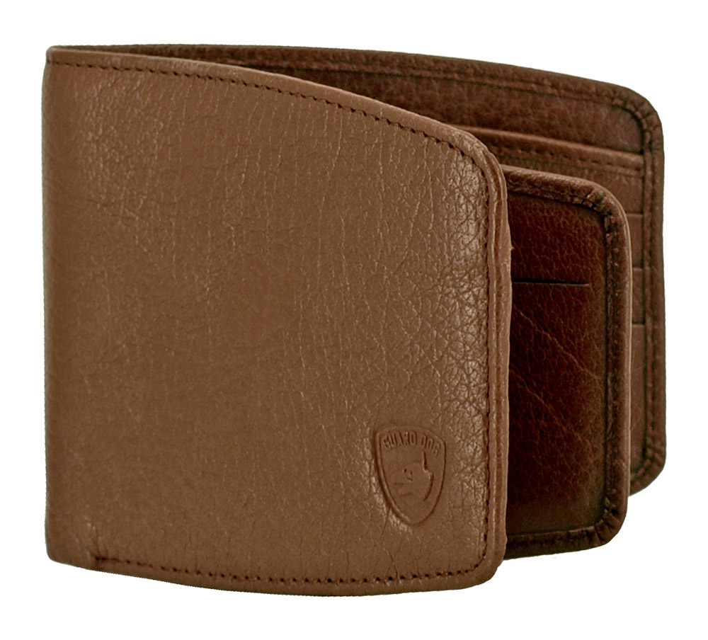 RIFD Guard Dog Security Wallet - Brown