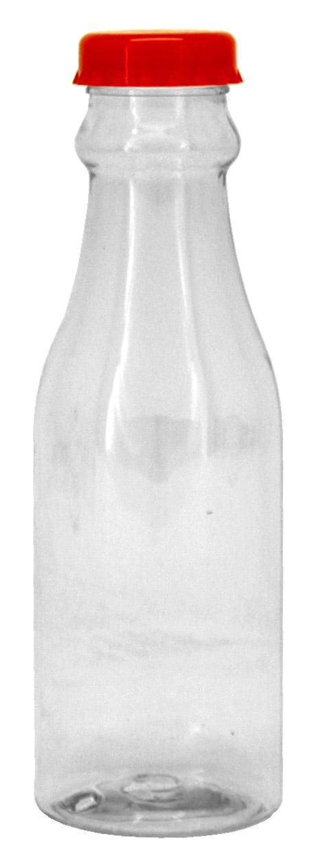 Plastic Vintage Milk Bottle - Assorted Colors