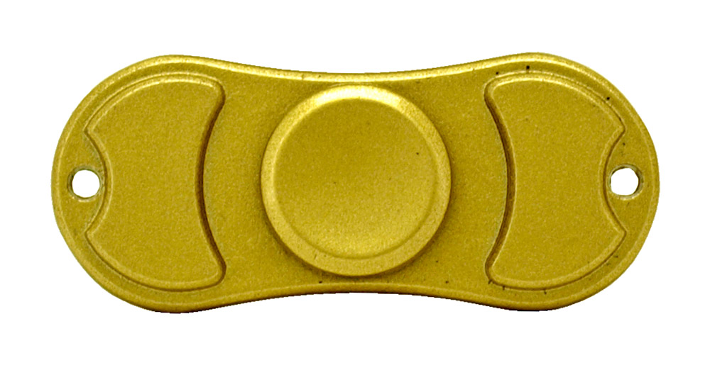 Bowtie Fidget Spinner - Golden