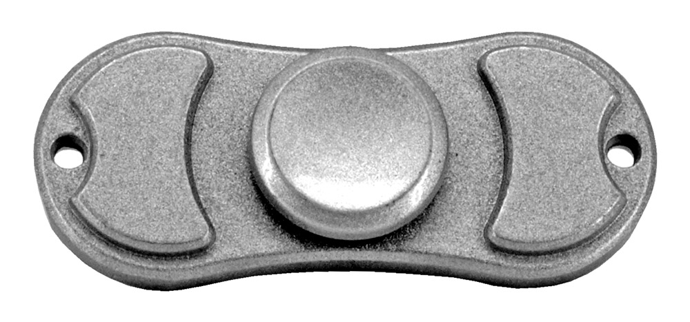 Bowtie Fidget Spinner - Silver