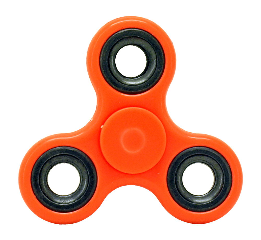 High-Speed Fidget Spinner - Orange