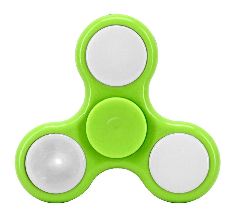 Light-Up Fidget Spinner - Green