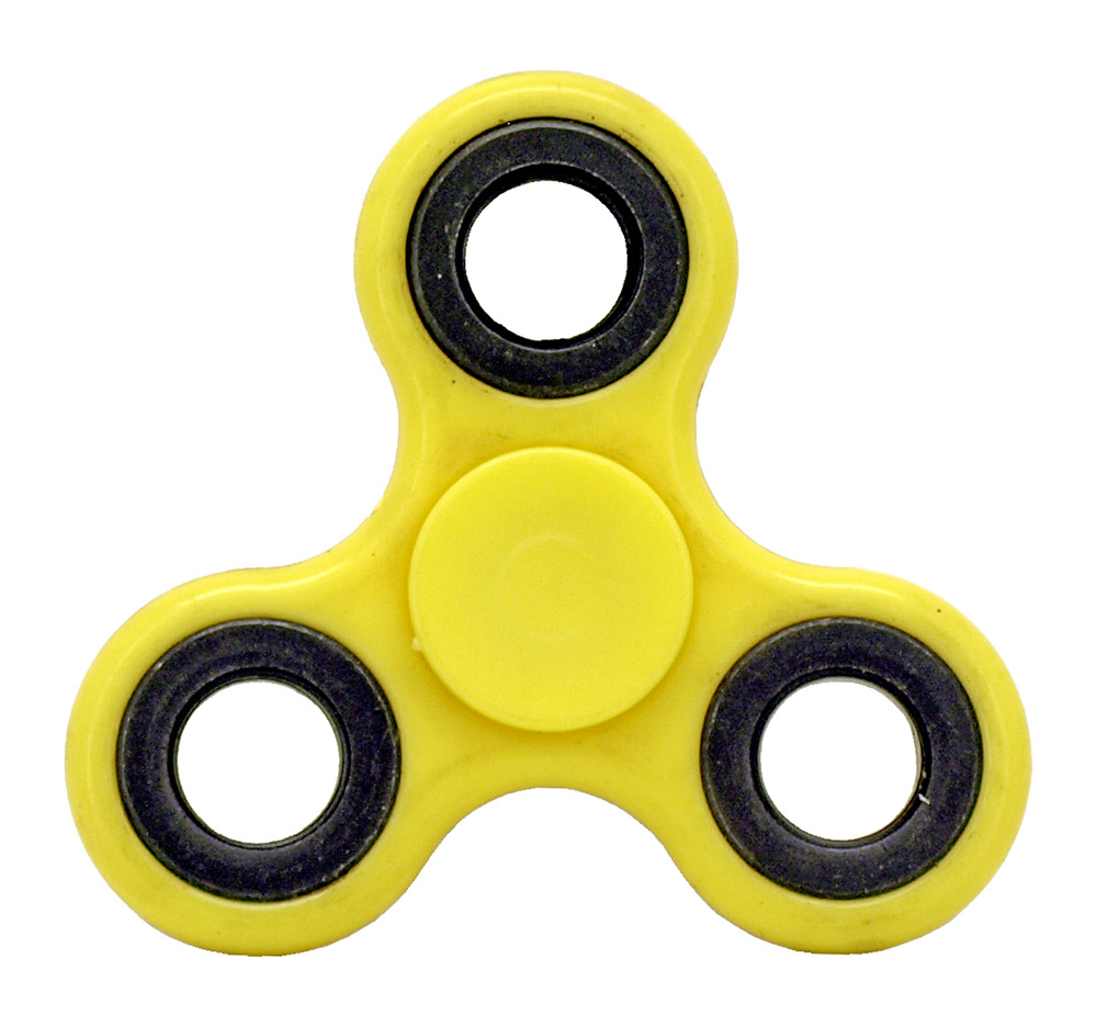 High-Speed Fidget Spinner - Yellow