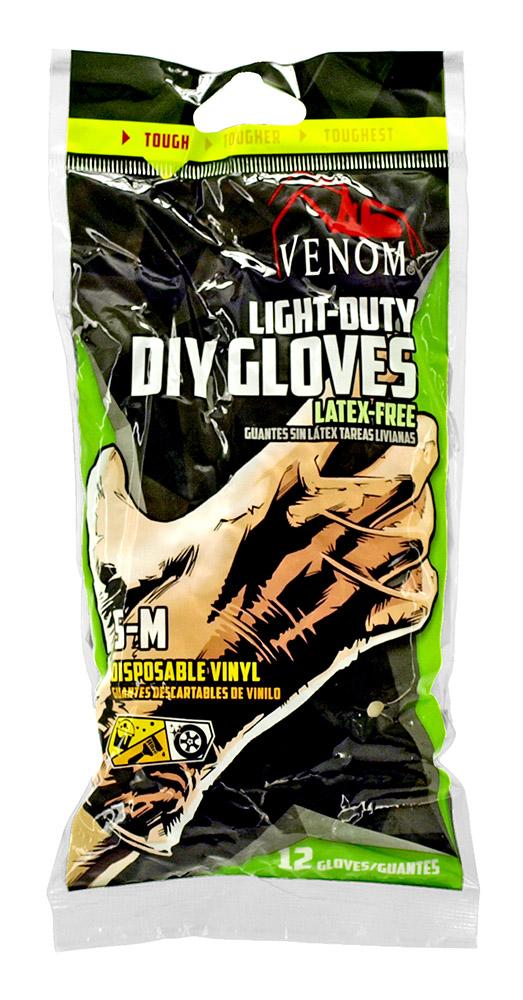 Venom Light-Duty DIY Gloves - Small-Medium