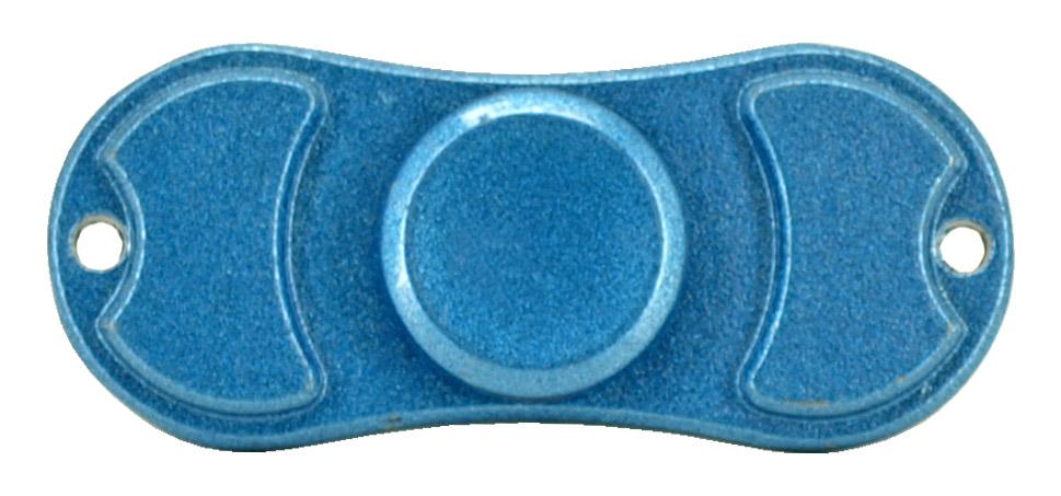 Bowtie Fidget Spinner - Blue