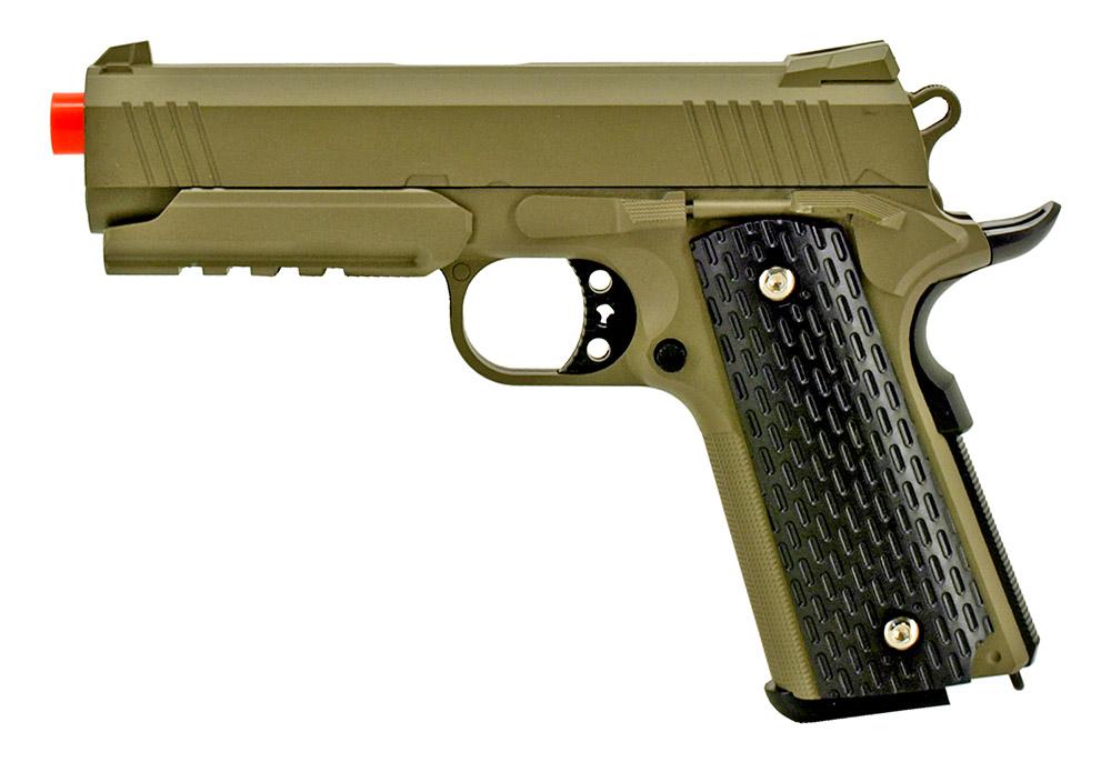Galaxy G25 Metal Airsoft Pistol - Desert