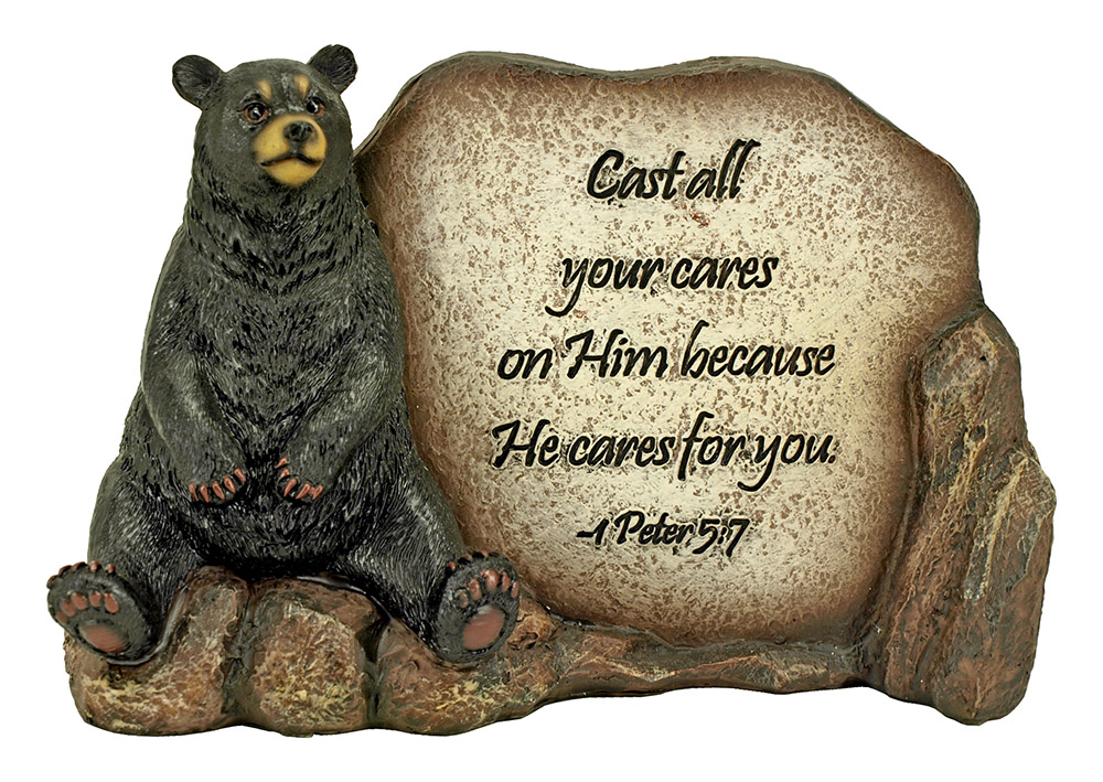 He Cares for You Statue (Psalm)