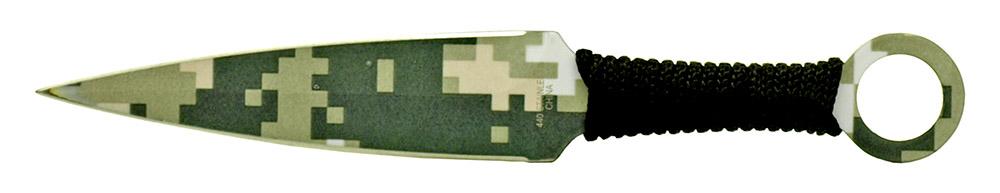 3 - pc. Throwing Knives Set - Digital Camo