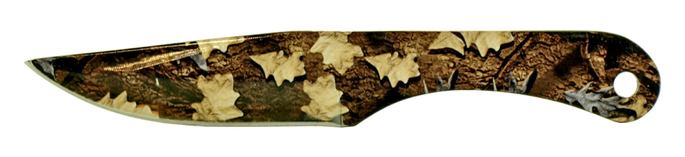 3-pc. Throwing Knife Set - Woodland Camo