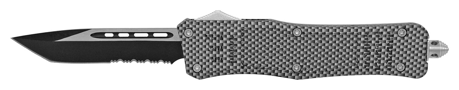 5.25 in Tactical Grip Out the Front Pocket Knife - Carbon Fiber