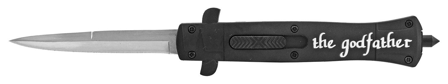 5.5 in Stiletto Out the Front OTF Tactical Folding Pocket Knife - The Godfather
