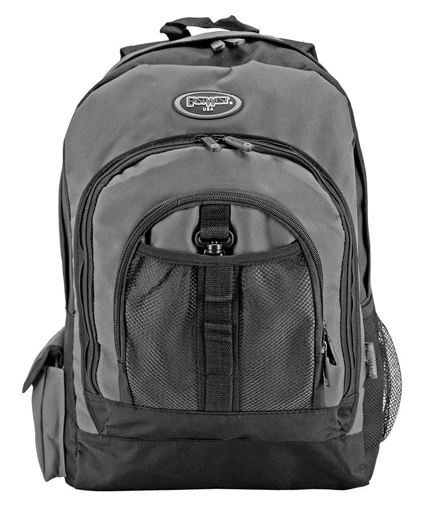 The High Schooler Backpack - Charcoal