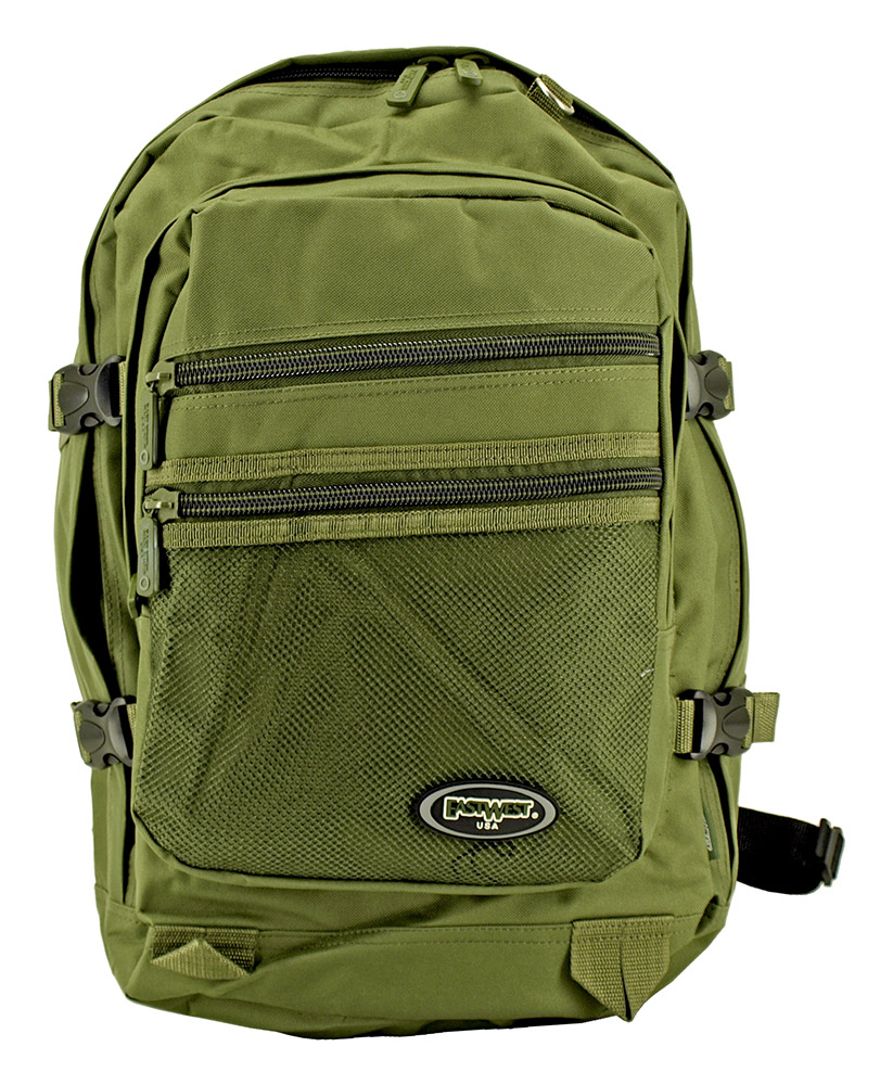 All Season Backpack - Olive Green