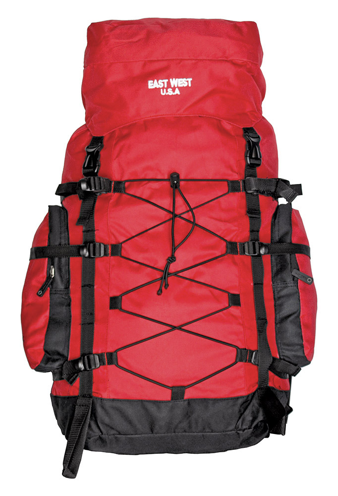 The Washington Hiking Pack - Red