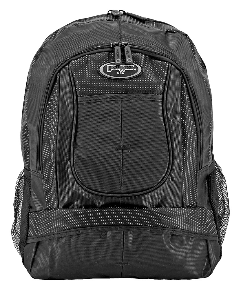 The Junior Backpack - Black